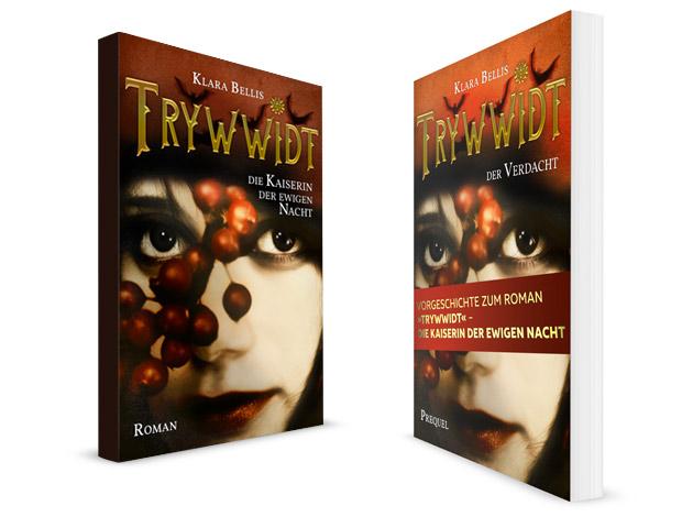 Felicitas Platzek: Cover-Design, Artwork, Trywwidt, Saalekreis