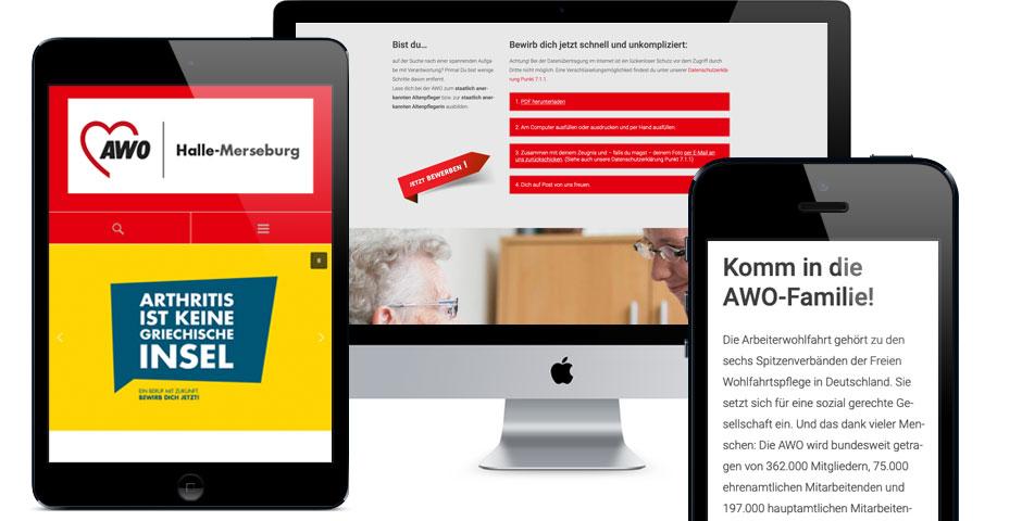 Bild zur Website von AWO Pflegeberufe